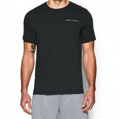 "Under Armour- T-Shirt ""Charged Cotton"". black. S-XL. Kampfsport. MMA Lifestyle."
