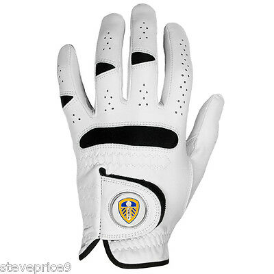 Leeds United Fc Golf Glove And Ball Marker. Large
