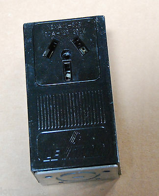 Leviton 50AMP 50A 125/250V 3P 3W Grounding Surface Mount Receptacle  5050 10-50R
