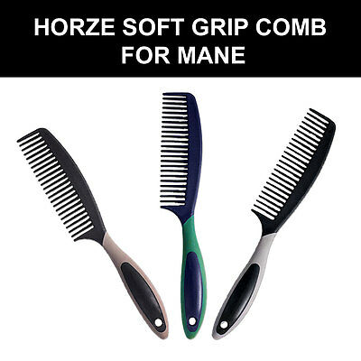 Horze Western Tack Horse Soft Grip Comb Mane Attractive