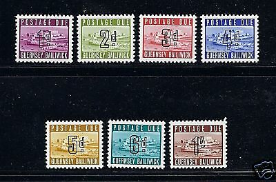 GB Guernsey 1969 POSTAGE DUES complete VF MNH