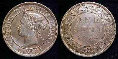 CANADA 1899 Large Cent XF+ **