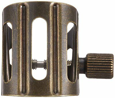 BG Saxophone Ligature with Cap for Metal Mouthpieces in Gold