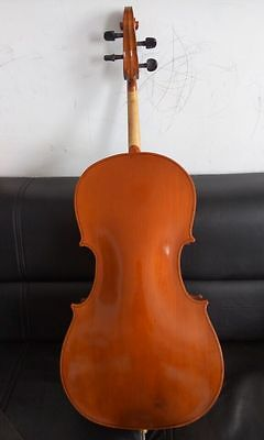 Cello 4/4 Size full Hand made Nice Workmanship maple back , sprue top