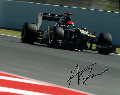 Alexander Rossi Indycar REAL hand SIGNED 8x10 Photo Indianapolis 500 with COA #1