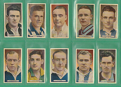 Football  -  Ardath  -  Scarce  Set  Of  50  Famous  Footballers  Cards  -  1934