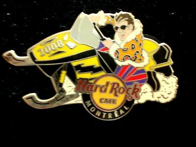 HRC Hard Rock Cafe Montreal Skidoo Pin 2008 LE300