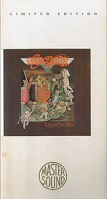 Aerosmith Toys in the Attic GOLD CD Mastersound SBM Longbox nur CD Neu OVP Seale