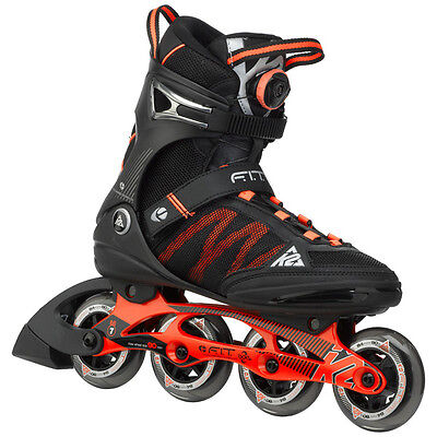 K2 F.I.T. Boa M Inline Skates Inliner Black Orange 3050000 Roller Skating FIT