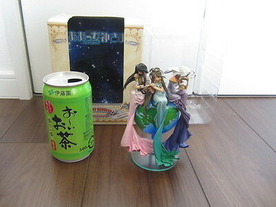 USED Kaiyodo Afternoon Ah Oh My Goddess Color Set with Earth Belldandy Urd Skuld
