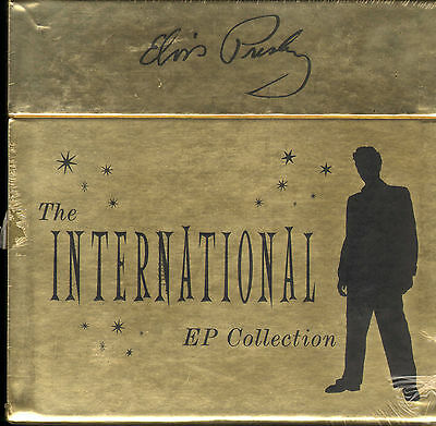 """The International EP Collection- Elvis Presley UK 11 ep 7"""" box  record SEALED !"""