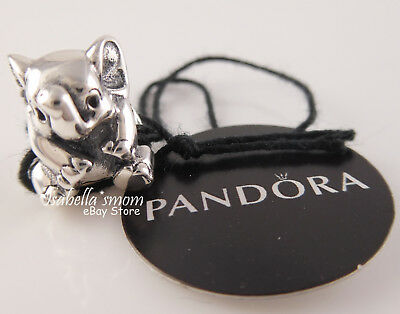 LUCKY ELEPHANT Authentic PANDORA Silver Charm/Bead 791902 NEW with TAG & POUCH!
