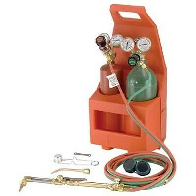 Welding - Soldering - Portable Outfit - Brazing - Torch, Oxygen Cylinder & More