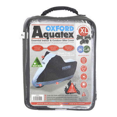 Oxford Aquatex Cover Outdoor & Indoor Motorbike Scooter Motorcycle XL X-Large
