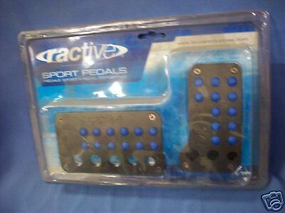 Ractive Sport Pedals (Black and Blue)
