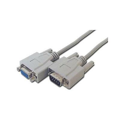 GP950 DB9 Pin Female - Male RS232 Serial Lead Extension Cable 3m