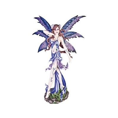 Standing Lavender Fairy Style with Wings Figurine Perfect Fantasy Mystic Cute