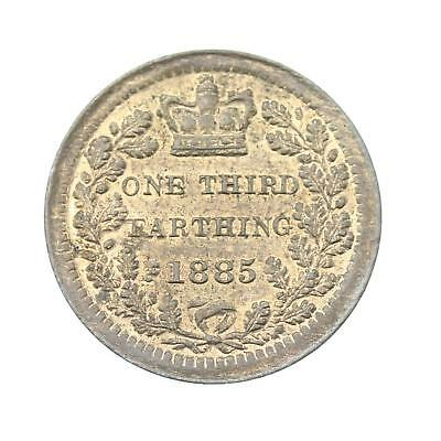 1885 Queen Victoria One Third Farthing Lot B3