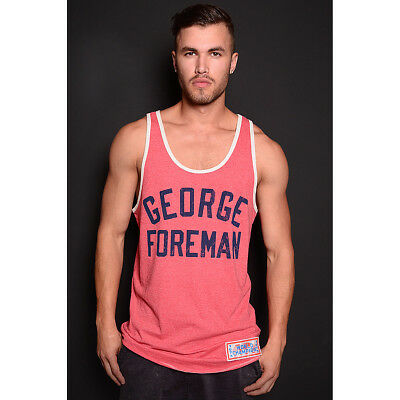 Roots of Fight George Foreman Champ Tank Top - Red