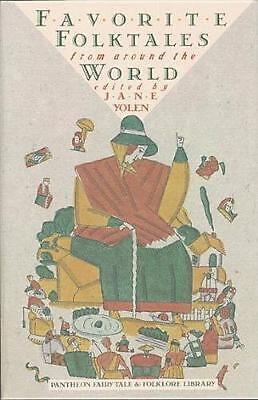 Favorite Folktales from Around the World by Jane Yolen (English) Paperback Book