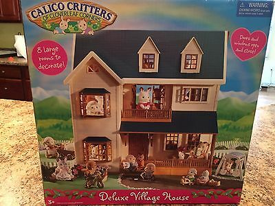 Calico Critters Deluxe Village House #CC1997 Retired New in Box VERY RARE