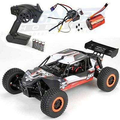 Losi LOS03007T1 TEN-SCBE 1/10 4WD Brushless Short Course Buggy Orange RTR w/DX2E