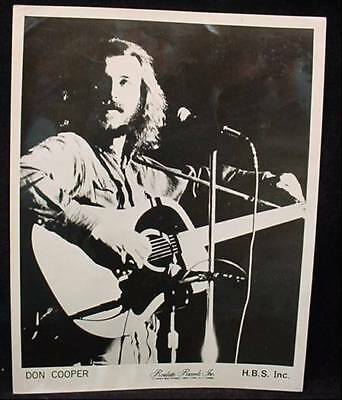 HBS Inc Press Photo DON COOPER Roulette Records Folk