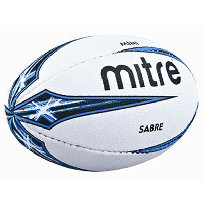 Mitre B4107 Sabre Practice Official Mini Size Miniature Training Rugby Ball