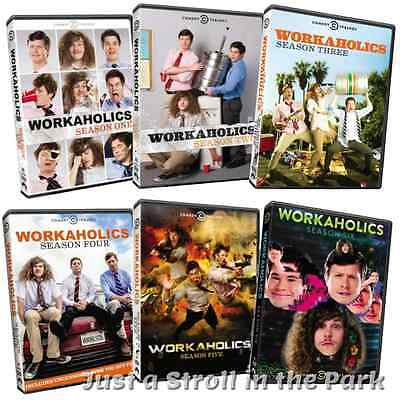 Workaholics Complete TV Series Seasons 1 2 3 4 5 6 Box / DVD Set(s) NEW!