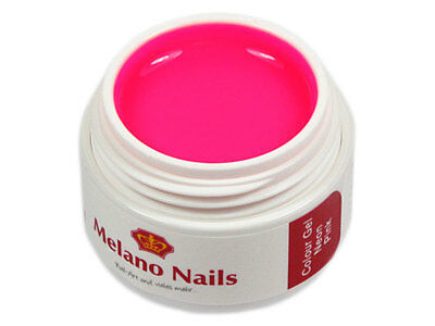 NEON Colour UV Gel Made in Germany 5ml Neon Pink B191