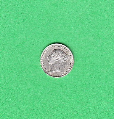 1859 Great Britain - Six Pence - Victoria - Extra Fine