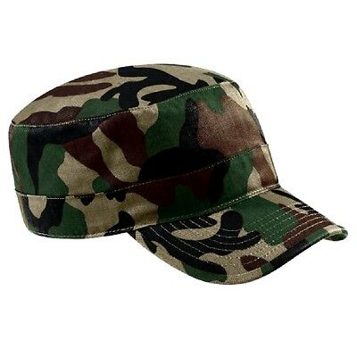 New Jungle Camouflage Army Surplus Style Military Cap
