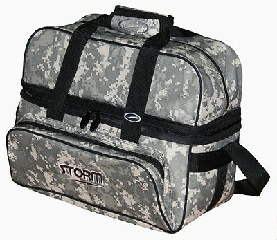 Storm Camo 2 Ball Deluxe Bowling Bag