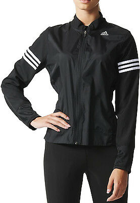 Adidas Response Wind Ladies Running Jacket - Black