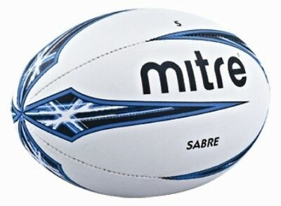New Mitre B1102 Sabre Rugby Ball Match Training Practice Balls Sizes 3-5