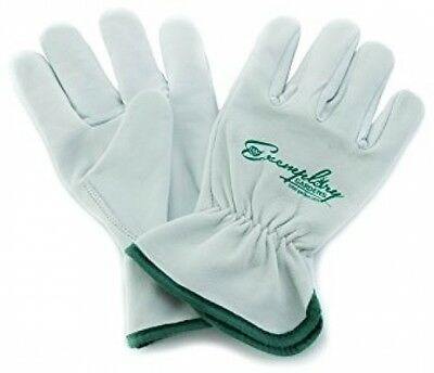 Heavy Duty Goatskin Leather Work Gloves For Men And Women. General Purpose And