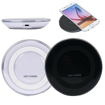 2016 Qi Wireless Fast Charging Charger For Samsung Galaxy S6 Edge Plus Note 5