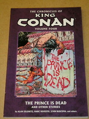 Chronicles Of King Conan:prince Is Dead - Volume 4 - Dark Horse Graphic Novel