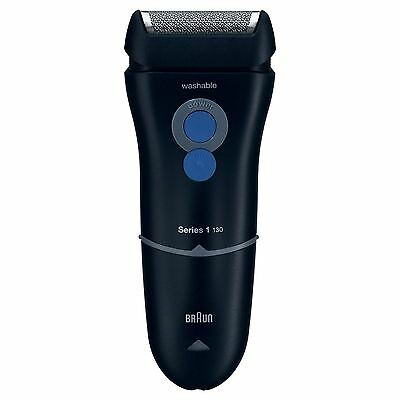 BRAUN 130S Series 1 Electric Mens Mains Powered Shaver Washable Head NEW