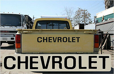 1976 - 1980 Chevy Luv Truck Pickup Tailgate Letters Chevrolet 76 77 78 79 80