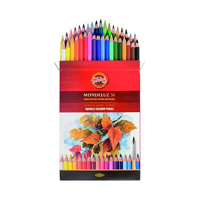 Koh-I-Noor 3715 - 3719 Mondeluz Artists Aquarrell Watercolour Pencils