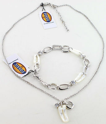 Fossil Kette JF14260 + passendes Armband JF14072, 925/- Silber, UVP € 115,80 NEU