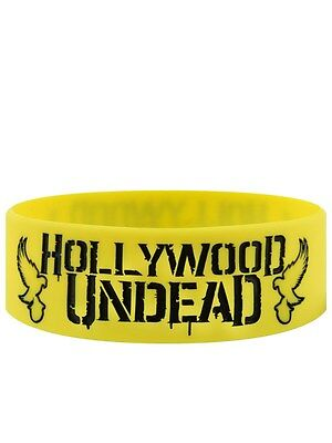 Hollywood Undead Mirror Doves Yellow Wristband