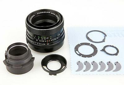 Objektiv Reparatur Carl Zeiss Jena MC Pancolar 1,8/50 mm Blende