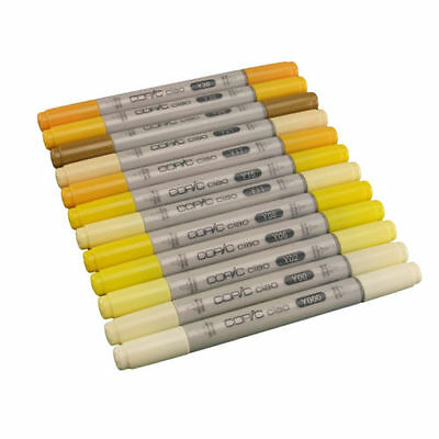 Copic Ciao Twin Tip Marker Pen Yellow Colours