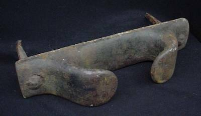 Nice Old Heavy Antique Davit Nautical Boat Ship Tie Down Hardware Cleat Chock