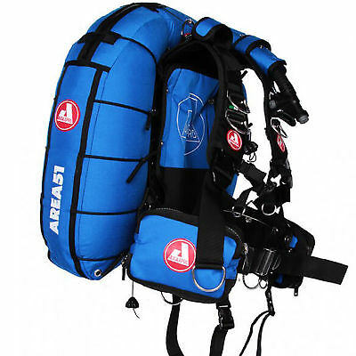 Uk Bcd Audaxpro Area51 Cordura Color Blu 30