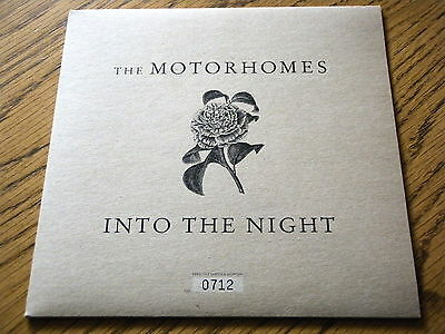 """The Motorhomes - Into The Night  7"""" Vinyl Ps"""