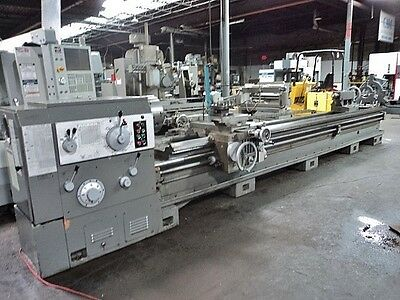 "Shenyang 35""x196"" Gap Bed Geared Head Engine Lathe 4-1/4"" Thru Hole  Leblond"