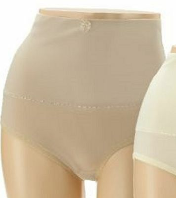 Wholesale Lot 10pr Carol Wior Microfiber Control Panty w/Wide Belly Band Size M